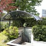 Tunnel cupole trasparente